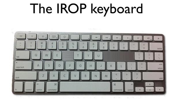 IROP keyboard