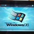 Does corporate inertia keep you on Windows 98? Virtualization may help but upgrade might be even better.